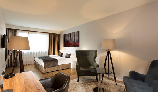 Wyndham Hotel Stuttgart Airport Messe Businesszimmer