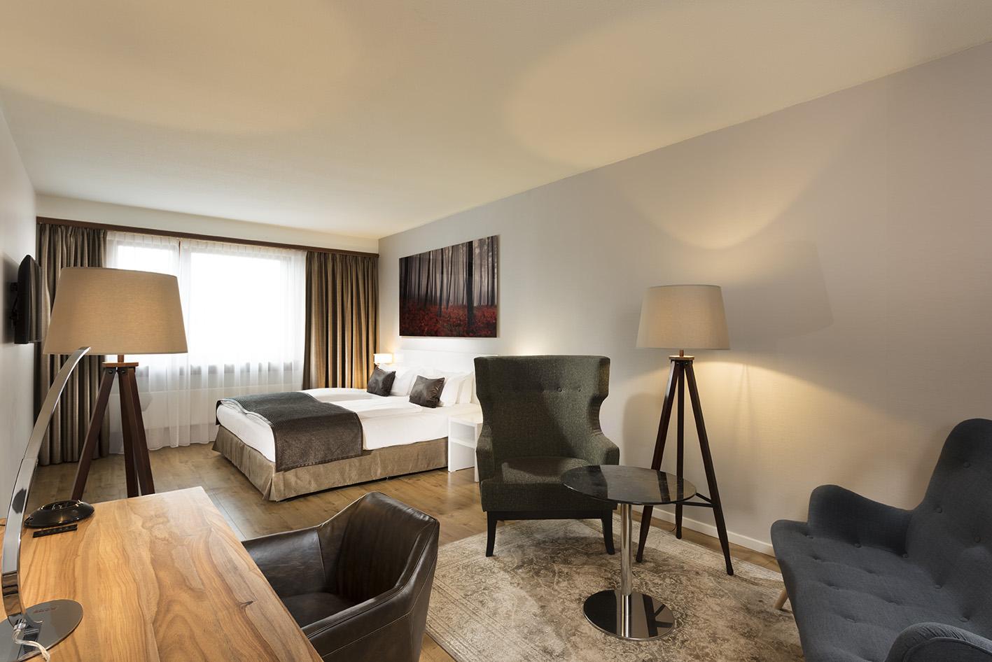 Wyndham Hotel Stuttgart - Großzügige Zimmer, Top Verkehrsanbindung